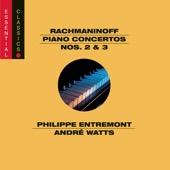 André Watts, Leonard Bernstein, New York Philharmonic, Philippe Entremont & Seiji Ozawa - Rachmaninoff: Piano Concertos Nos. 2 & 3  artwork