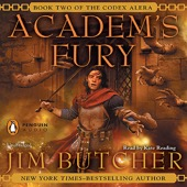 Jim Butcher - Academ's Fury: Codex Alera, Book 2 (Unabridged)  artwork