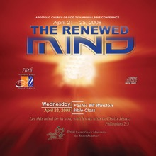 Renewing of the Mind, Pastor Bill Winston