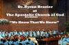 We Know That We Know - EP, Dr. Byron Brazier & Apostolic Church of God