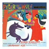 Boris Karloff, Mario Rossi & Wiener Opernorchester - Prokofiev: Peter and the Wolf, Lieutenant Kijé Symphonic Suite  artwork