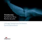 Chicago Symphony Orchestra & Daniel Barenboim - Tchaikovsky: Symphony No. 4 & Romeo and Juliet Overture  artwork