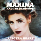Marina and The Diamonds - Electra Heart  artwork