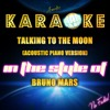 Talking To The Moon (Acoustic Piano Version) - Bruno Mars Album Cover