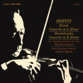 Jascha Heifetz, New Symphony Orchestra of London & Boston Symphony Orchestra - Mendelssohn & Bruch: Violin Concertos  artwork