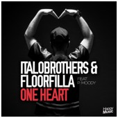 ItaloBrothers & Floorfilla - One Heart (Radio Edit) [feat. P. Moody] illustration