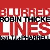 Blurred Lines (feat. T.I. & Pharrell) - Single