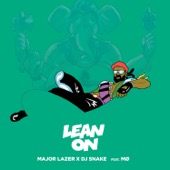 Major Lazer - Lean On (feat. M� & DJ Snake) illustration