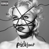 Rebel Heart - Madonna Cover Art