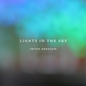 Peter Gregson - Lights in the Sky  artwork