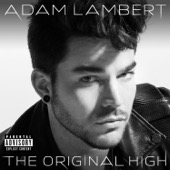 The Original High (Deluxe Version) - Adam Lambert Cover Art