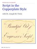 Dr. Joseph M. Vitolo - Script in the Copperplate Style  artwork