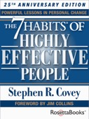 Stephen R. Covey - The 7 Habits of Highly Effective People: Powerful Lessons in Personal Change (25th Anniversary Edition)  artwork