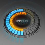 ITGO HD - Interval Trainer GO HD - The Ultimate Gym and Outdoor Timer for Cardio Health, Fitness and Well Being