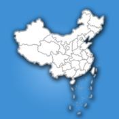 中国行政区划地图iPhone