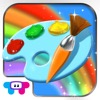 Paint Sparkles Draw - My First Coloring Book HD! for iPhone / iPad