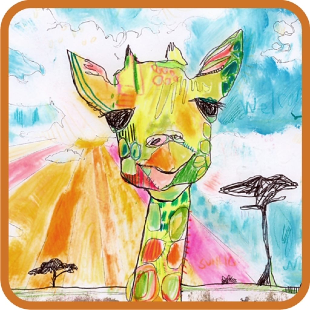 Gerry the Giraffe HD