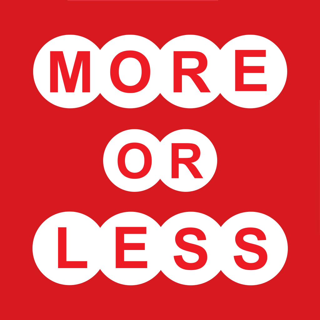 More or Less - What's Your Number?