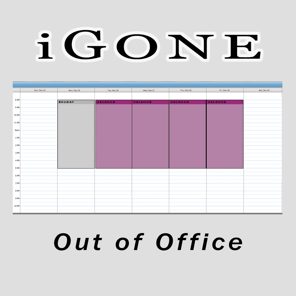iGone Out of Office