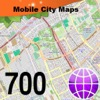 700 City Maps for iPhone / iPad