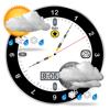 気象予報士月相カレンダー - それは良い時計だ - Agile Microsystems, LLC