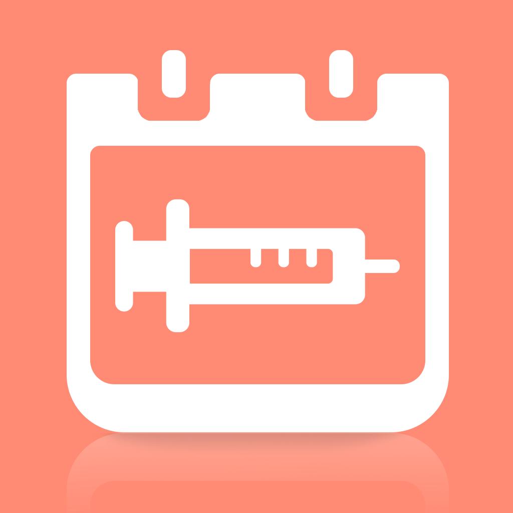 超シンプル!予防接種スケジューラー(無料簡単アプリ・子育てアプリシリーズ)