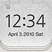 LCD Clock HD