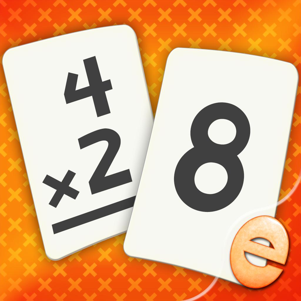 Multiplication Flashcard Match Games