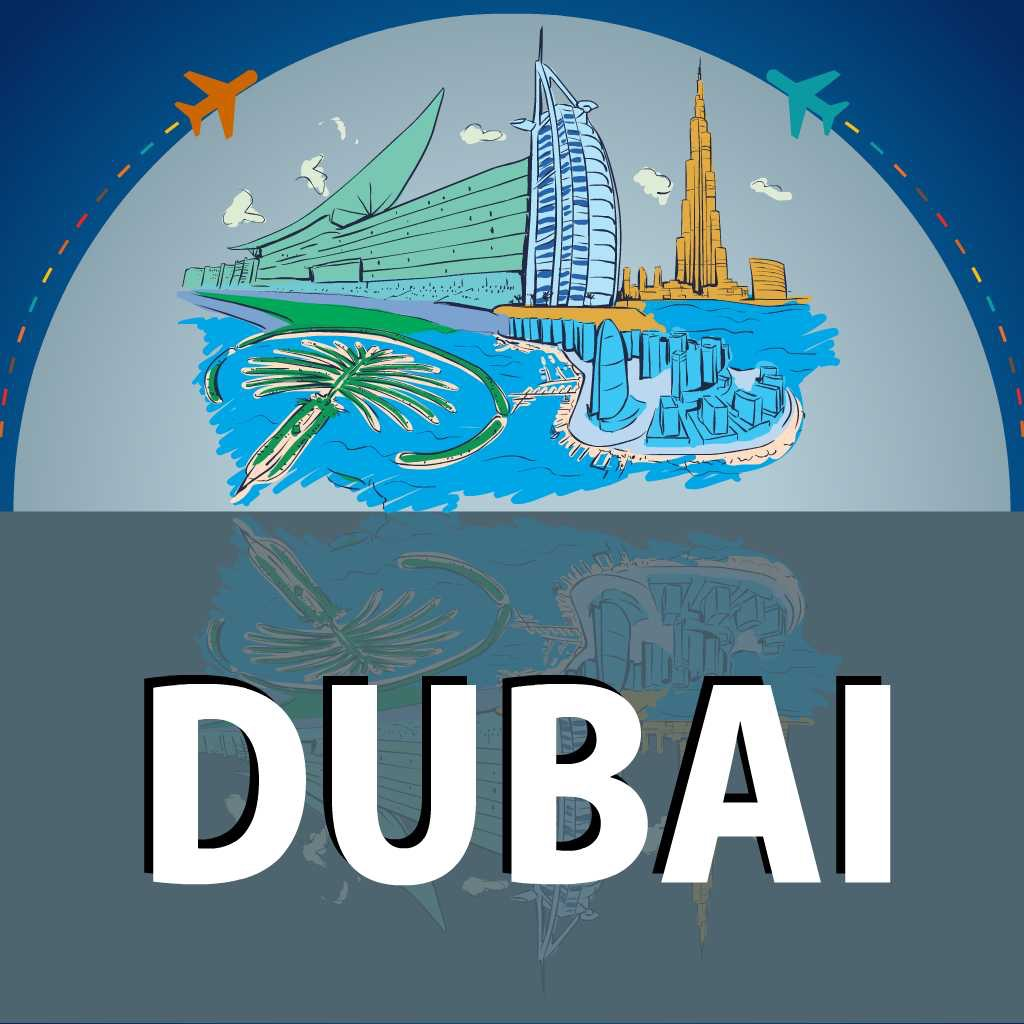 Dubai OfflineMap Visitors Guide