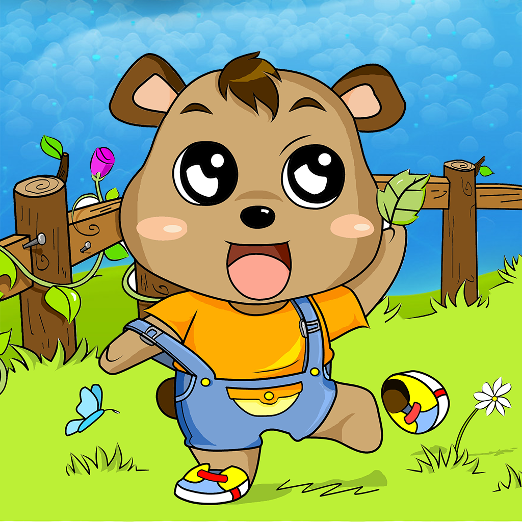 本应用完全免费,请放心下载 小黄熊是一头可爱的小熊,全身毛茸茸的,他天真、单纯、诚实、乐观、助人为乐、体贴、贪吃、好奇。罗宾和小猪是小黄熊最好的伙伴,他们和其他小动物们住在美丽的百亩森林,每天都有许多动人有趣的故事发生~ 他们一起认识山洞里的回声,在阳光下的草地上玩追逐影子、丢树枝、套圈圈的游戏,还有很多有趣的小伙伴比如胆小温柔的小猪、活泼的跳跳虎、白天爱睡觉的猫头鹰、可爱的鸭宝宝、和蔼的猪妈妈等等,他们一起探索大自然,感受春夏秋冬四季的美景,一起寻找小黄熊爱吃的蜂蜜,一起做圣诞大餐、打雪仗快乐地生