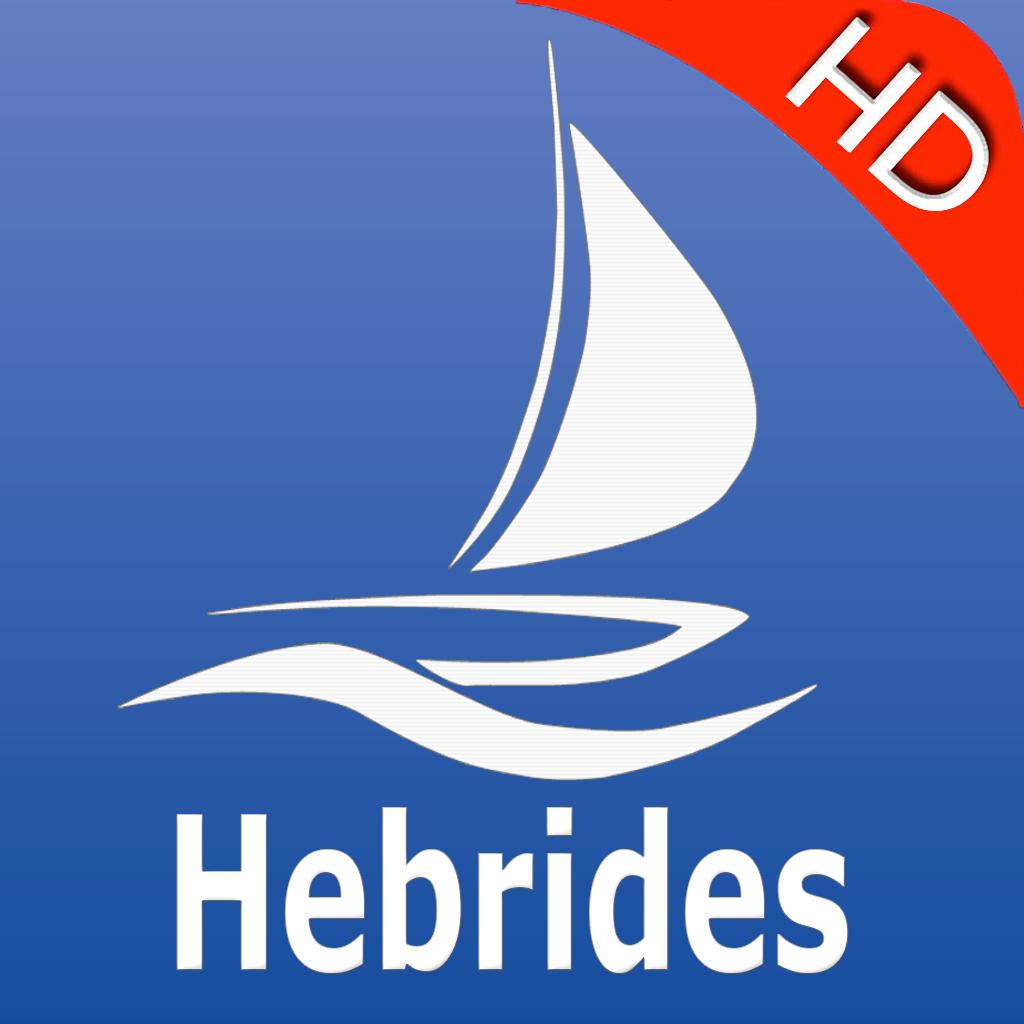 Hebrides GPS Nautical charts pro