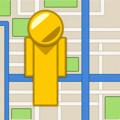 iStreetView for Google Maps : Street View Imagery, Draggable Peg Man and Nearby Places Search