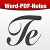 Textilus - Word Document Processor for Microsoft Office, Scrivener & Quickoffice