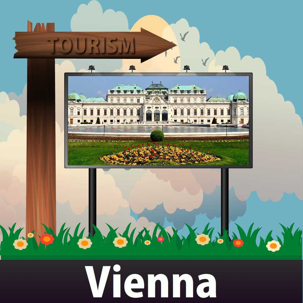 Vienna Travel Guide - Offline Map