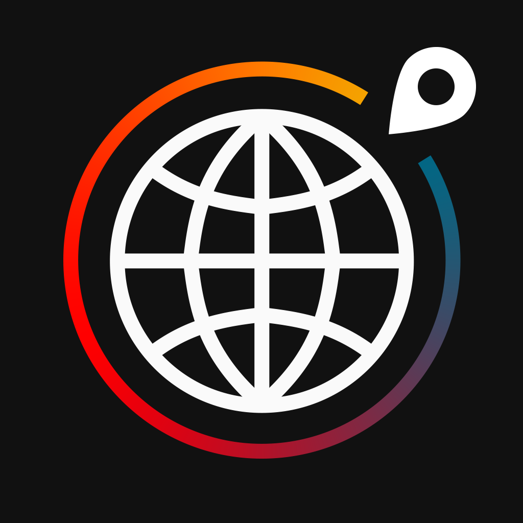 Globetrotter: Virtually Travel the World while Running, Biking, Driving, Swimming and more! iOS App