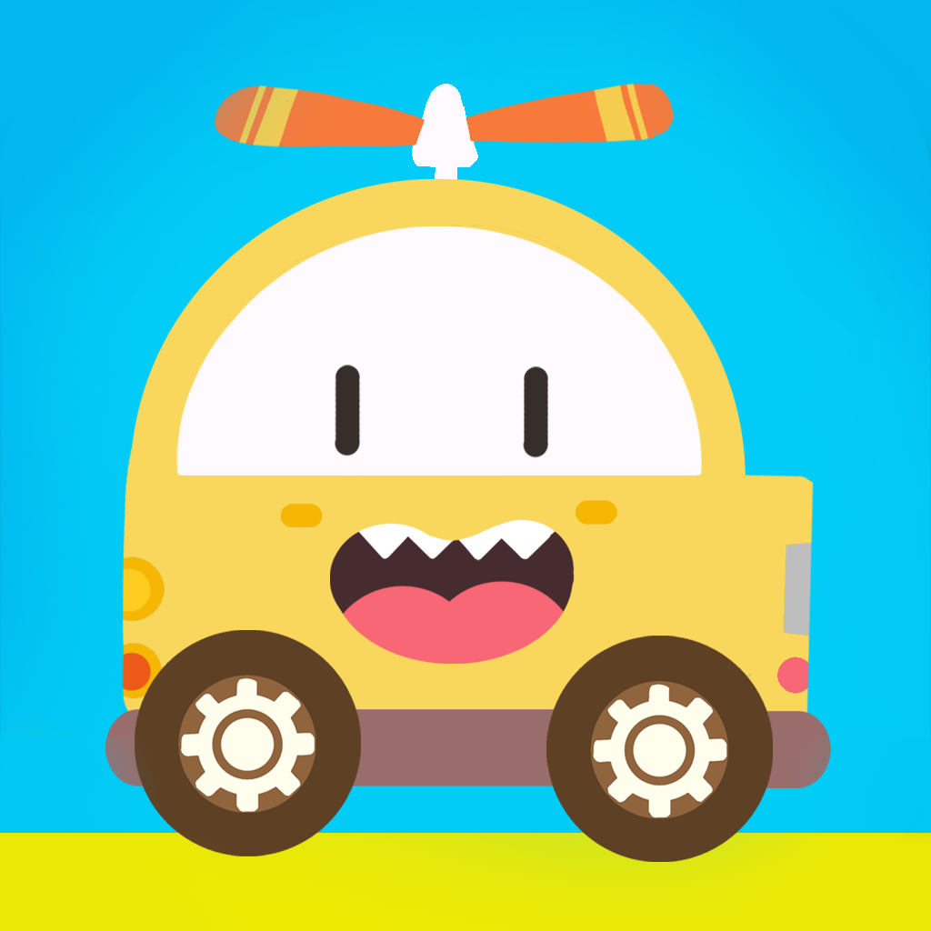 Labo Car Designer(3y+) - creative toy app for kids, create & race their own dream cars, trucks and other funny vehicles
