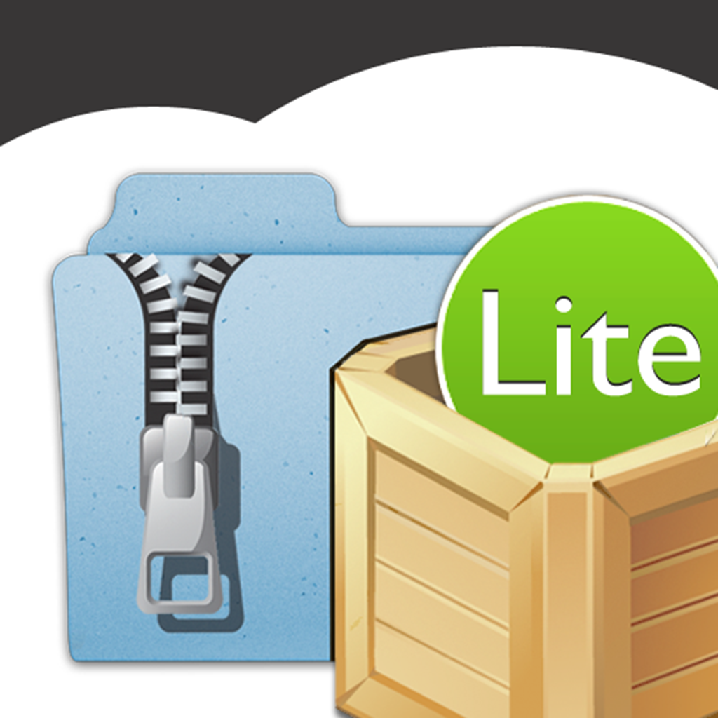 iUnarchive Lite - Archive and File Manager with support for Dropbox, Box, Skydrive, SugarSync, WebDAV en FTP iOS App