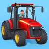 Fox and Sheep GmbH - Little Farmers - Tractors, Harvesters & Farm Animals for Kids artwork