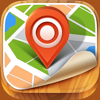 Maps for Google Maps with Offline Viewing, Directions, Street View, Search, Places, GPS Services, Ruler