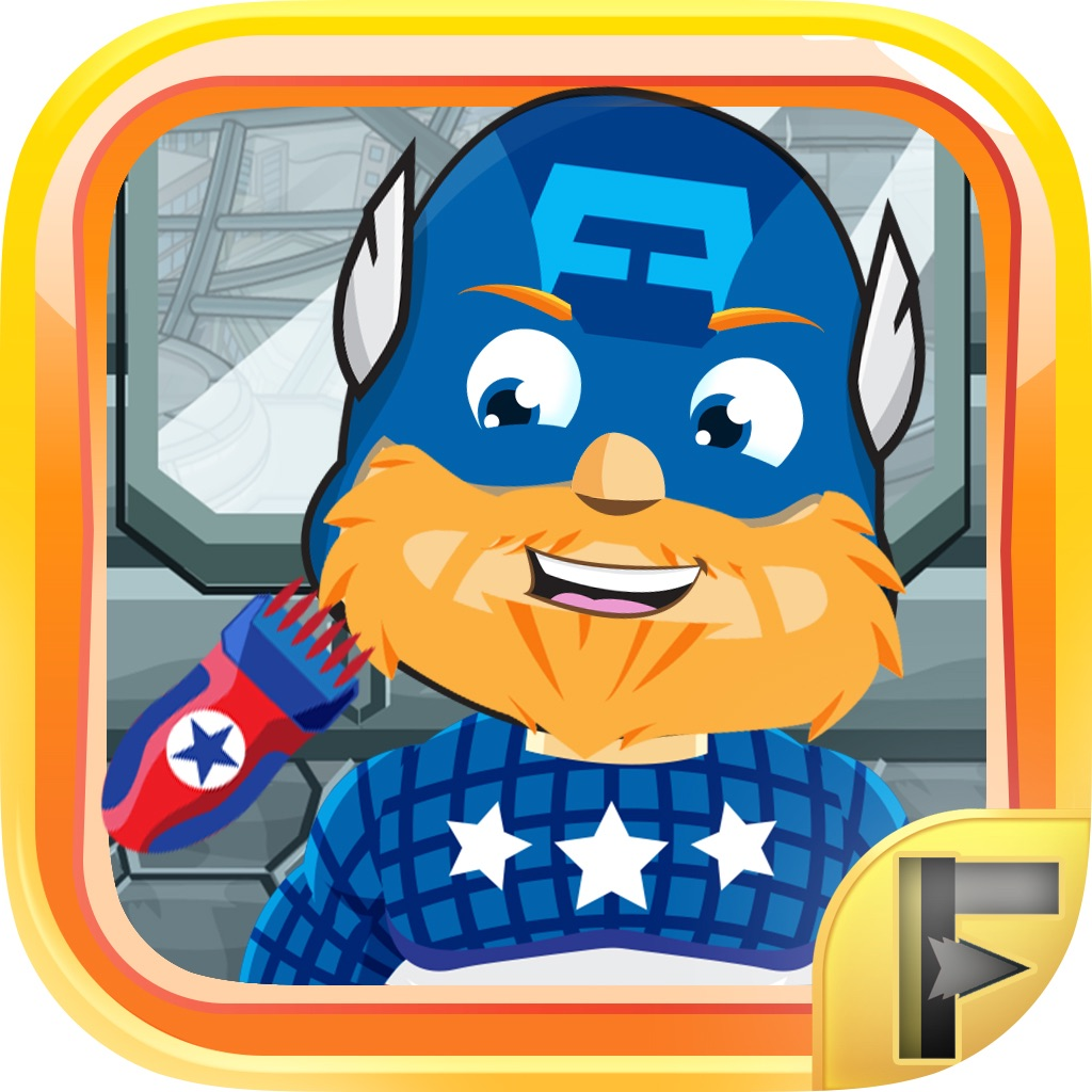 Superhero Shave Salon – Free Comic Games For Kids