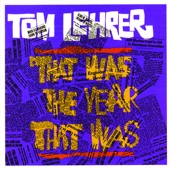 Cover to Tom Lehrer's That Was the Year That Was