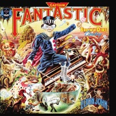 Captain Fantastic and the Brown Dirt Cowboy - Elton John Cover Art