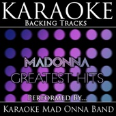 Frozen (In the Style of Madonna) [Karaoke Version Instrumental Playback Backing Track]