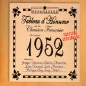 Tableau d'honneur de la chanson française de l'année 1952 (Versions originales)