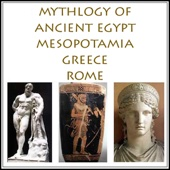 Charles Pricheta - The Mythology of Ancient Egypt, Mesopotamia, Greece and Rome (Unabridged) artwork