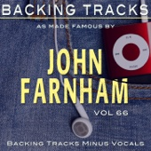 Hits of John Farnham Vol 66 (Backing Tracks Minus Vocals)