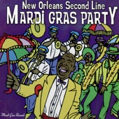 Various Artists - New Orleans Second Line Mardi Gras Party  artwork