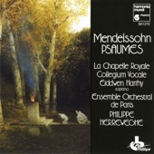 Collegium Vocale Gent, Ensemble Orchestral de Paris & Philippe Herreweghe - Mendelssohn: Psalms artwork