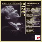 Leonard Bernstein & New York Philharmonic - Bizet: Symphony No. 1 In C Major - Offenbach: Gaîté Parisienne - Von Suppé: Die Schöne Galatea Overture  artwork