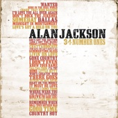 Alan Jackson - 34 Number Ones  artwork